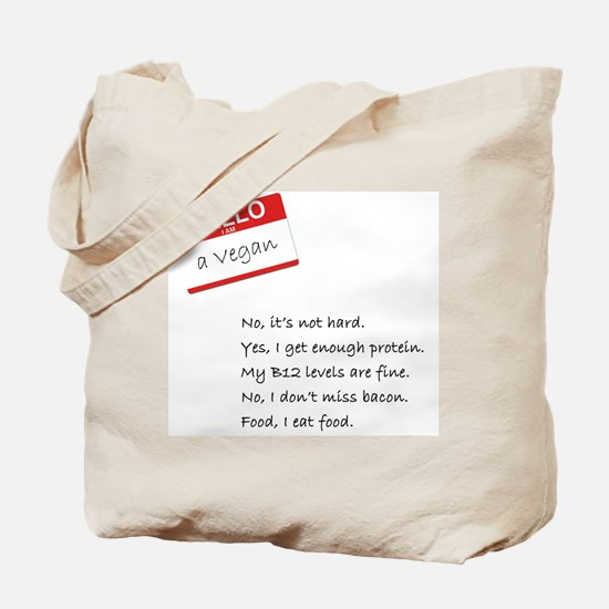 Cool Vegan Tote Bag