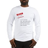 Vegan Long Sleeve T-shirts