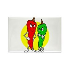 Pepper thugs red green w yellow ciricle Rectangle