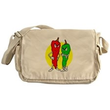 Pepper thugs red green w yellow ciricle Messenger