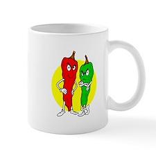 Pepper thugs red green w yellow ciricle Mug
