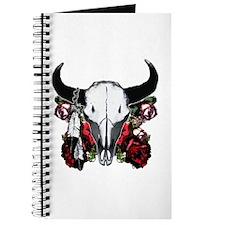 Buffalo skull and roses 3 Journal