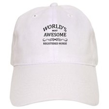 World's Most Awesome Registered Nurse Baseball Cap