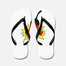Pepper with text mexican graphic Flip Flops