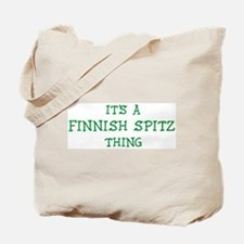 Finnish Spitz thing Tote Bag