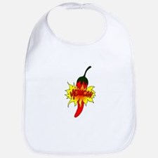 Pepper with text mexican graphic Bib