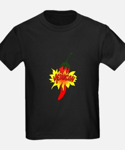 Pepper with text mexican graphic T-Shirt