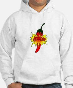 Pepper with text mexican graphic Hoodie