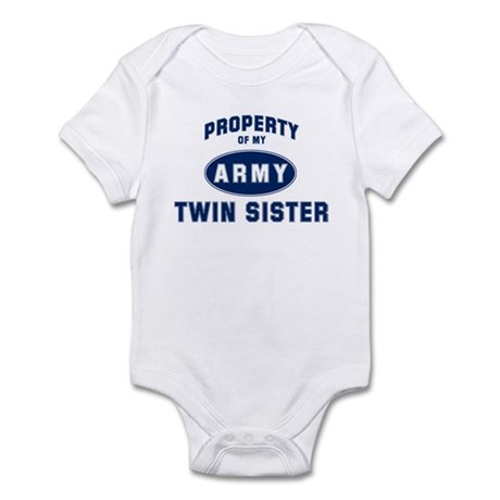 Property of my Twin Sister Infant Bodysuit