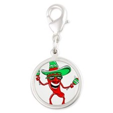 Pepper maracas sombrero sunglasses Charms