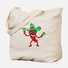 Pepper maracas sombrero sunglasses Tote Bag