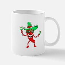 Pepper maracas sombrero sunglasses Mug