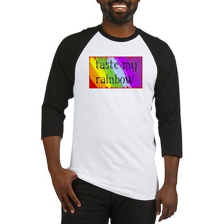 Taste My Rainbow Baseball Jersey