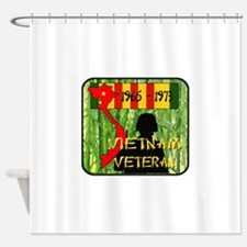 Vietnam Veteran Shower Curtain