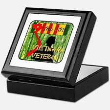 Vietnam Veteran Keepsake Box