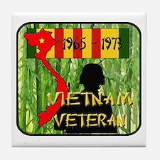 Vietnam Veteran Tile Coaster