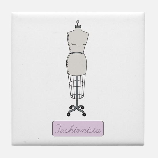 Fashionista Tile Coaster