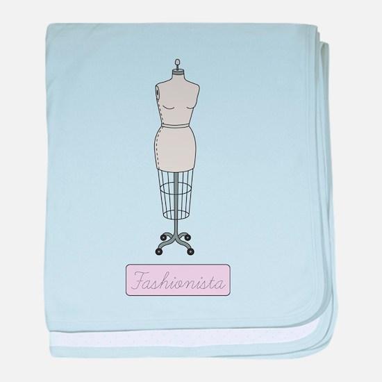 Fashionista baby blanket