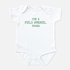 Field Spaniel thing Infant Bodysuit