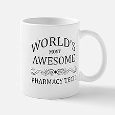 World's Most Awesome Pharmacy Tech Small Small Mug