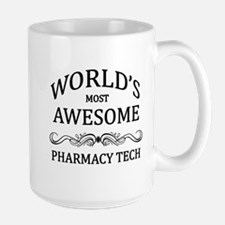 World's Most Awesome Pharmacy Tech Mug