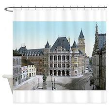 Gerichtsgebaeude Bremen Shower Curtain