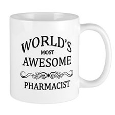 World's Most Awesome Pharmacist Mug