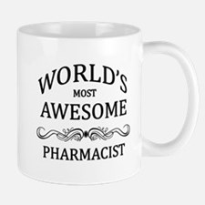 World's Most Awesome Pharmacist Small Small Mug