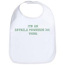 Estrela Mountain Dog thing Bib