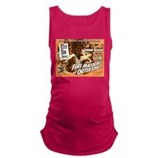 FIRE MAIDENS OF OUTER SPACE Maternity Tank Top