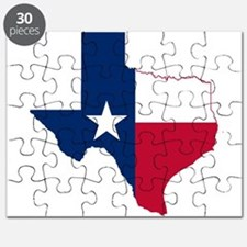 Cute Texas flag Puzzle