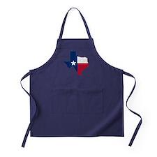 Cute Texas flag Apron (dark)