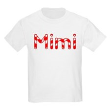 Mimi - Candy Cane Kids T-Shirt