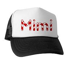 Mimi - Candy Cane Trucker Hat