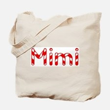 Mimi - Candy Cane Tote Bag