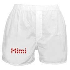 Mimi - Candy Cane Boxer Shorts