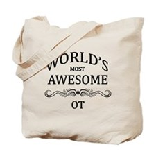 World's Most Awesome OT Tote Bag