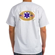 Iraq Remote/Desert Medics Ash Grey T-S