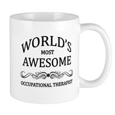 World's Most Awesome Occupational Therapist Small Mug
