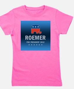 Buddy Roemer For President Girl's Tee