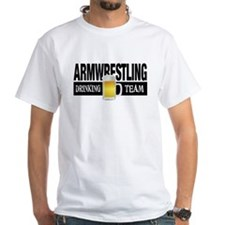 Arm Wrestling Drinking Team T-Shirt