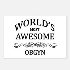 World's Most Awesome OBGYN Postcards (Package of 8