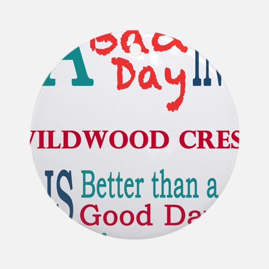 Wildwood Crest Ornament (Round)