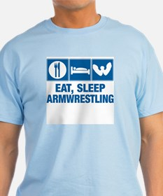 Eat Sleep Armwrestling T-Shirt