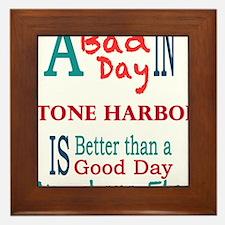 Stone Harbor Framed Tile