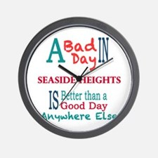 Seaside Heights Wall Clock