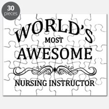 World's Most Awesome Nursing Instructor Puzzle