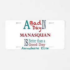 Manasquan Aluminum License Plate