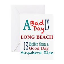 Long Beach Greeting Card