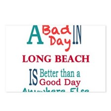 Long Beach Postcards (Package of 8)